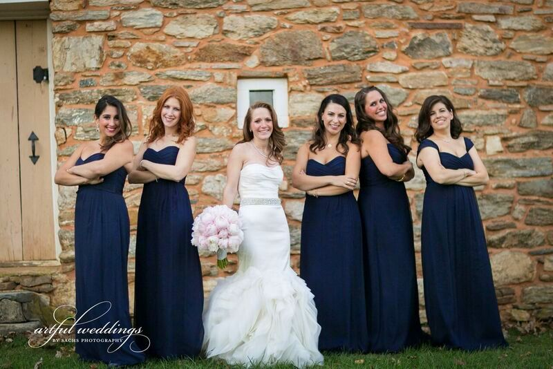 Brooke and her bridemaids